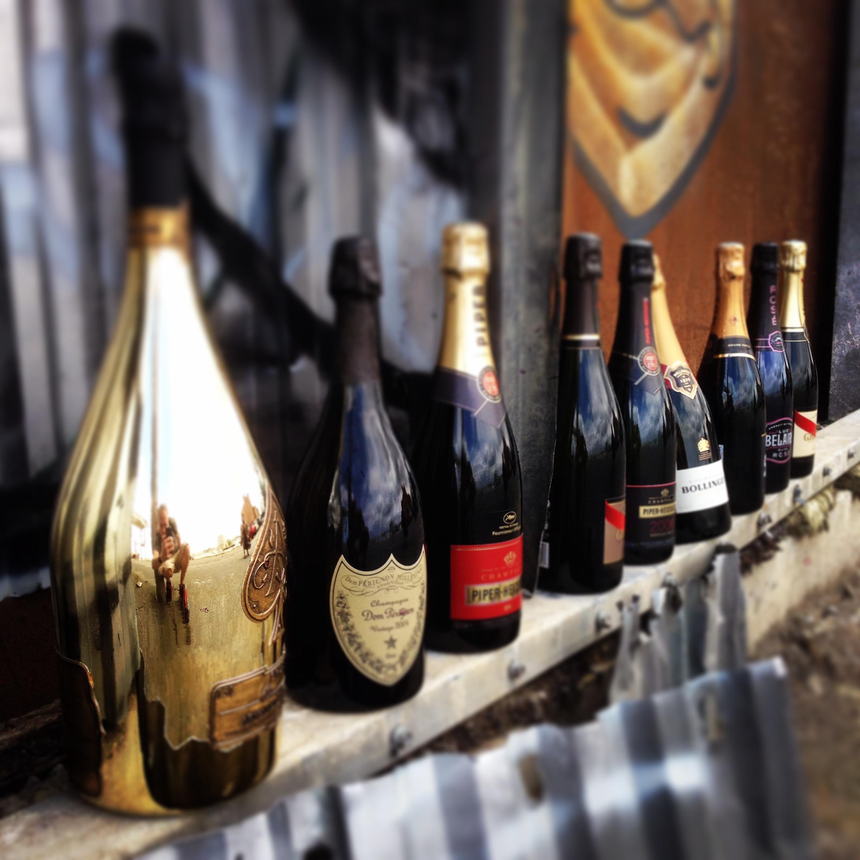 vin leveret til døren